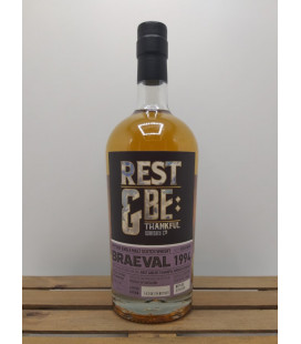 Single Malt Whisky Braeval 1994 48% 0 cl