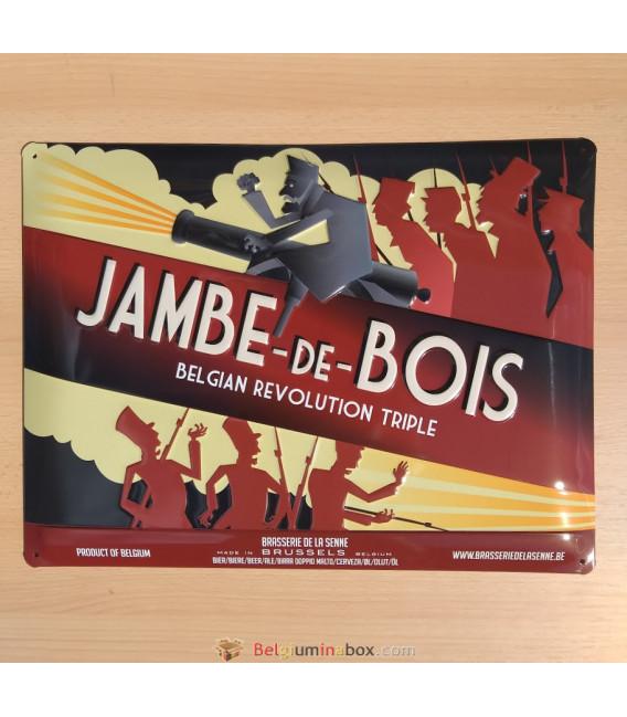 Jambe -de-Bois Beer-Sign