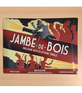 Jambe -de-Bois Beer-Sign