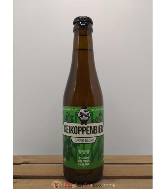 De Plukker Keikoppenbier (Hoppig Blond) new label 33 cl
