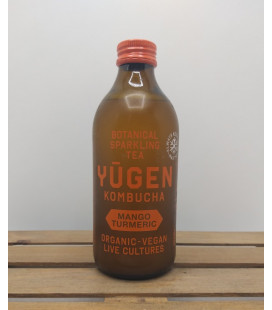 YUGEN Kombucha Mango-Turmeric 32.5 cl