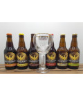 Grimbergen Brewery Pack (6x33cl) + Grimbergen Glass