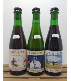 Cantillon 3-Pack (Gueuze-Kriek-Rosé) 3 x 37.5 cl 2019