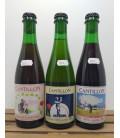 Cantillon 3-Pack (Gueuze-Kriek-Rosé) 3 x 37.5 cl