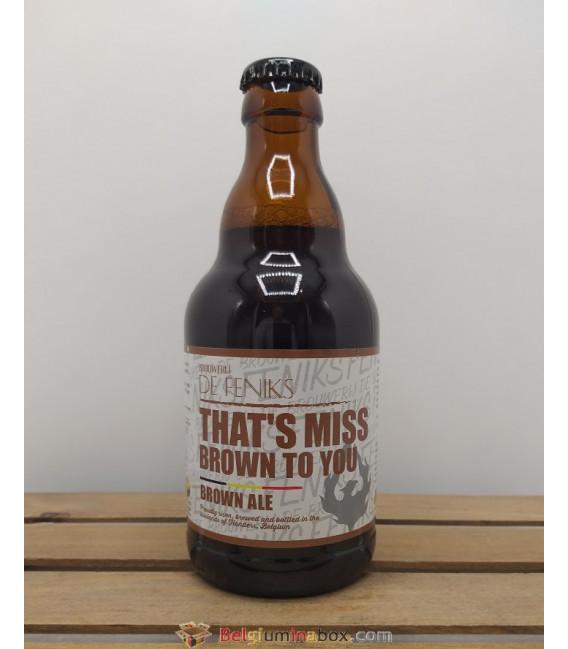 De Feniks That's Miss Brown To You 33 cl