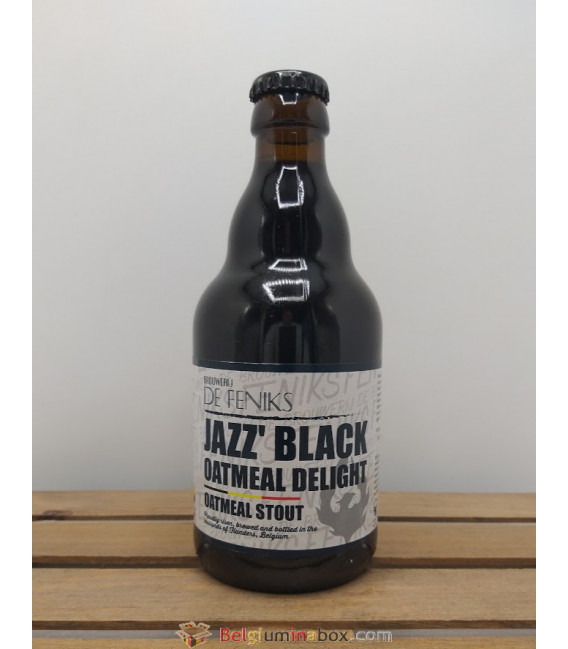 De Feniks Jazz' Black Oatmeal Delight 33 cl