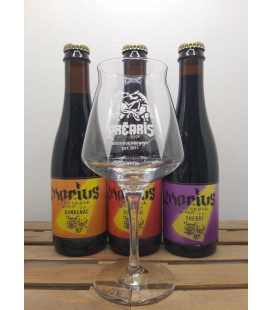 Marius 3-Pack + FREE Préaris Glass