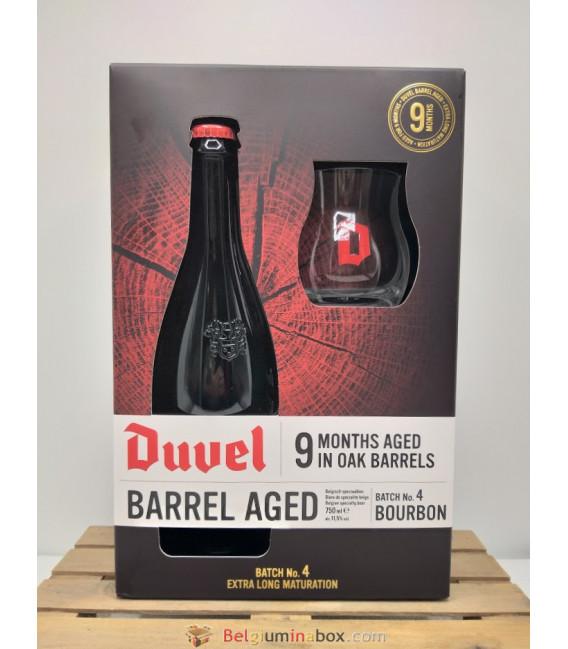 Duvel Oak Aged 9 Months in Oak Barrel (Batch 4) 75 cl in Gift Box