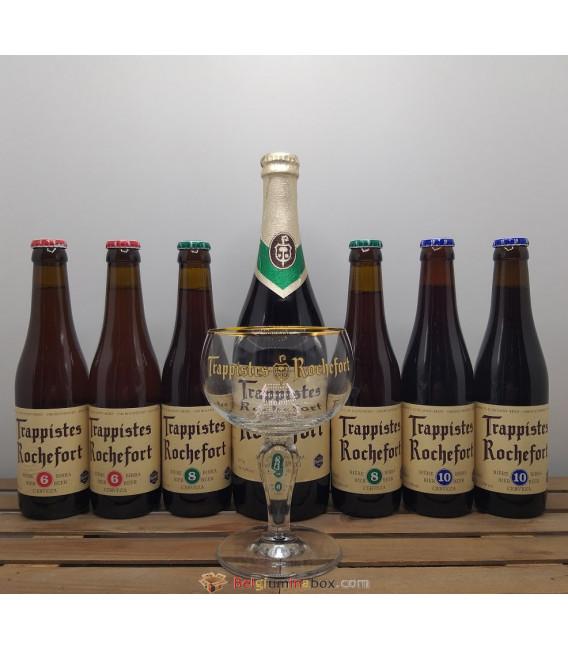 Rochefort Brewery Pack + FREE Rochefort Trappist Glass