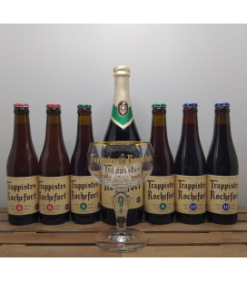 Rochefort Brewery Pack + FREE Rochefort Trappist Glass