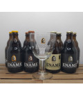 Ename Brewery Pack (8x33cl) + FREE Ename Glass