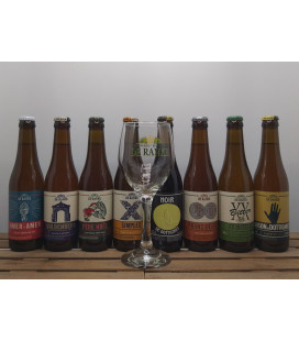 De Ranke Brewery Pack (8x33cl) + FREE De Ranke Glass