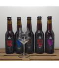 Verzet Oud Bruin Brewery Pack (5x33cl) + FREE Verzet Glass