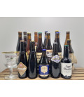 Trappist Brewery Pack (16x33cl) + FREE Westvleteren Trappist Glass