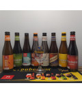 Troubadour Brewery Pack (8x33cl) + Glass + FREE Barmat