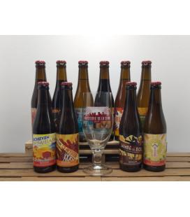 De La Senne Brewery Pack (10x33cl) + FREE De La Senne Glass