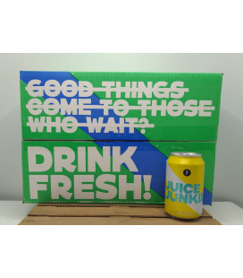 Brussels Beer Project Juice Junkie Box of 24 x 33 cl CANS (23+1 FREE)