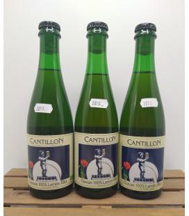 Cantillon Gueuze 3-Pack (2017-2018-2019) 37.5 cl