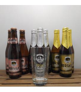 Oud Beersel Bersalis Brewery Pack (3x3) + FREE Oud Beersel Glass