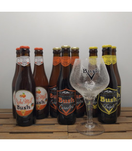 Bush Brewery Pack (3x3) + Bush Glass