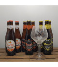 Bush Brewery Pack (3x3) + Bush (cracked-look) Glass