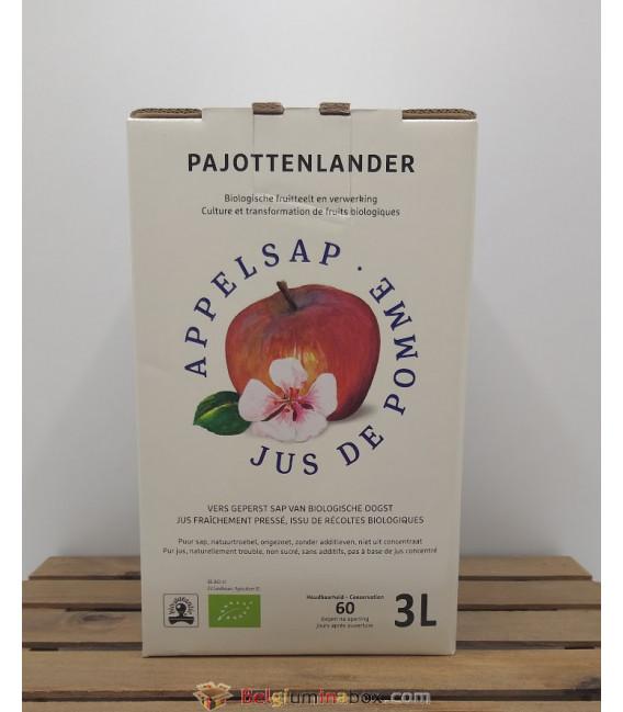 Pajottenlander Appelsap - Jus de Pomme - Apple Juice Bag-in-Box 3L