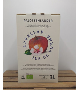 Pajottenlander Appelsap - Jus de Pomme - Apple Juice Bag-in-Box 3L