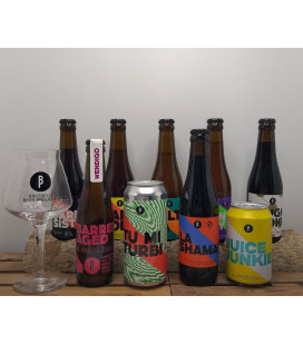 Brussels Beer Project Brewery Pack (9-pack) + FREE BBP Glass