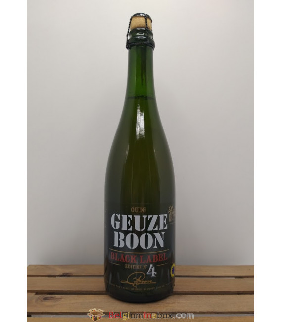 Boon Oude Geuze Black Label N° 4 75 cl