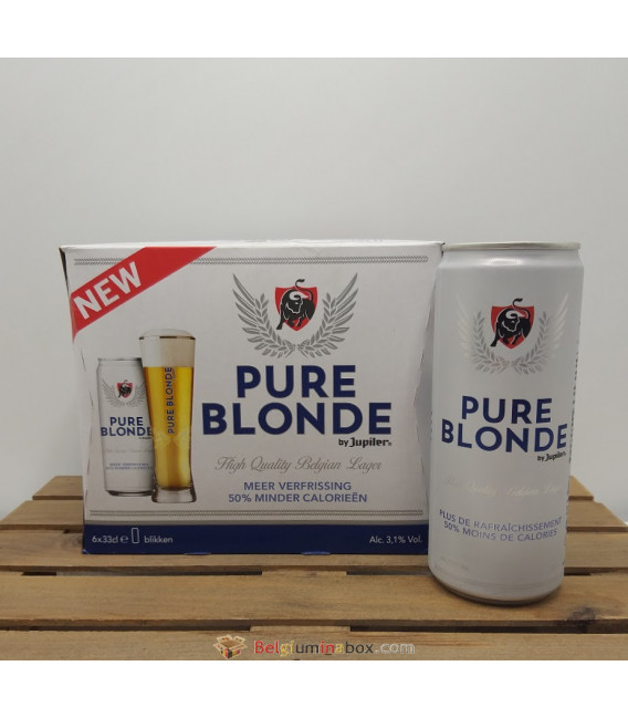 Jupiler Pure Blonde 6-pack (6x33cl) Cans