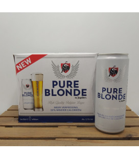 Jupiler Pure Blonde PILS 6-pack (6x33cl) CANS