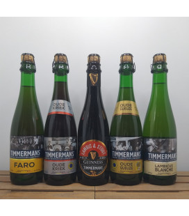 Timmermans Lambic Brewery Pack (5x37.5cl)