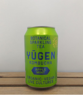 YUGEN Kombucha Apple-Mint 32 cl CAN