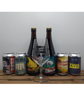 DOK Brewery Pack + FREE DOK Brewing Glass