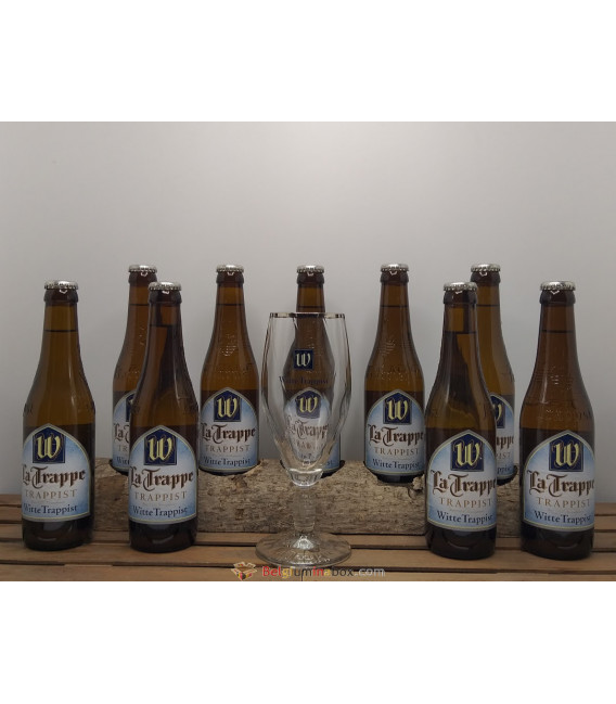 La Trappe Witte Trappist 8-Pack + FREE Witte Trappist Glass