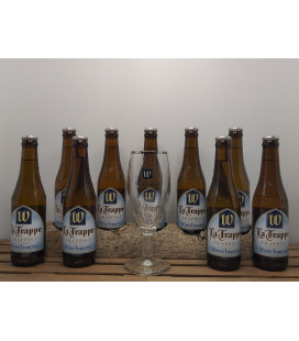 La Trappe Witte Trappist 9-Pack + FREE Witte Trappist Glass