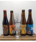 Dunekeun Brewery Pack (4x33cl) + FREE Dunekeun Glass