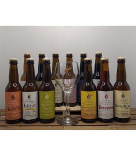 De Dochter van de Korenaar Brewery Pack (12x33cl) + FREE Brewery Glass