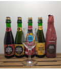 Mort Subite Brewery Pack (5x37.5cl) + FREE Mort Subite Glass