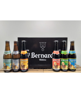 St Bernardus mixed crate (6 x4) 24 x 33 cl