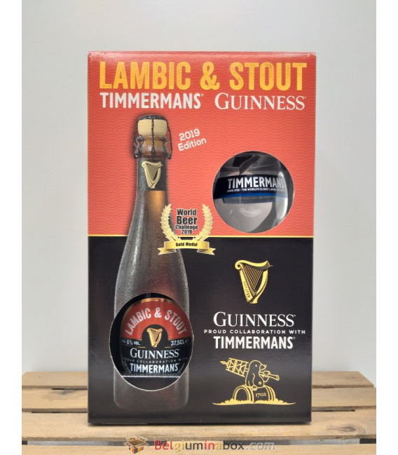 Guinness-Timmermans Lambic & Stout Gift Box + Glass
