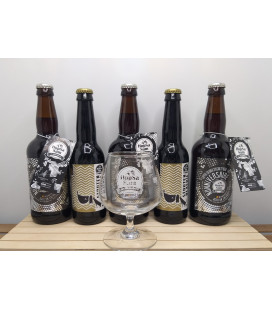 HopSaSAm Brewery 5-Pack + FREE HopSaSam Glass