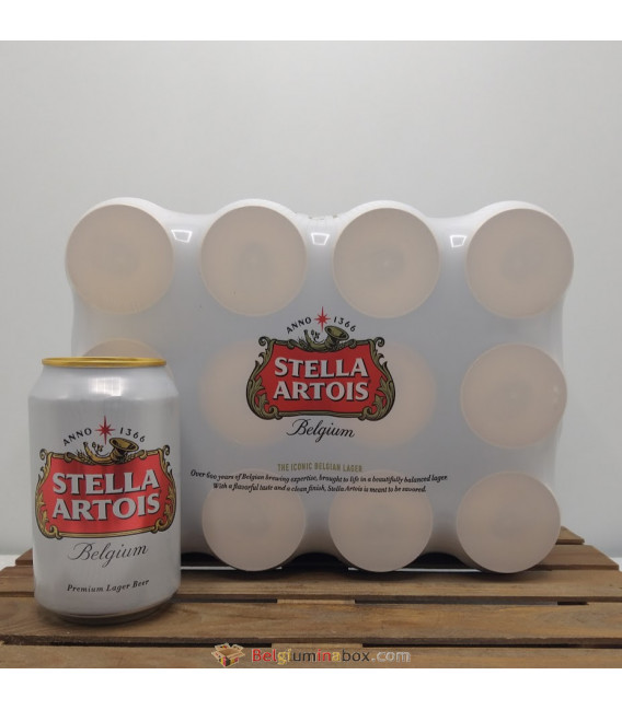 Stella Artois 12-Pack (12x33cl) Cans