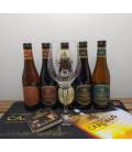 Gouden Carolus Brewery Pack (5x33cl) + Gouden Carolus Large Glass + FREE Barmat