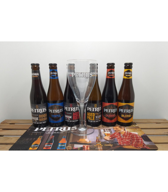 Petrus Brewery Pack (6x33cl) + FREE Petrus Glass
