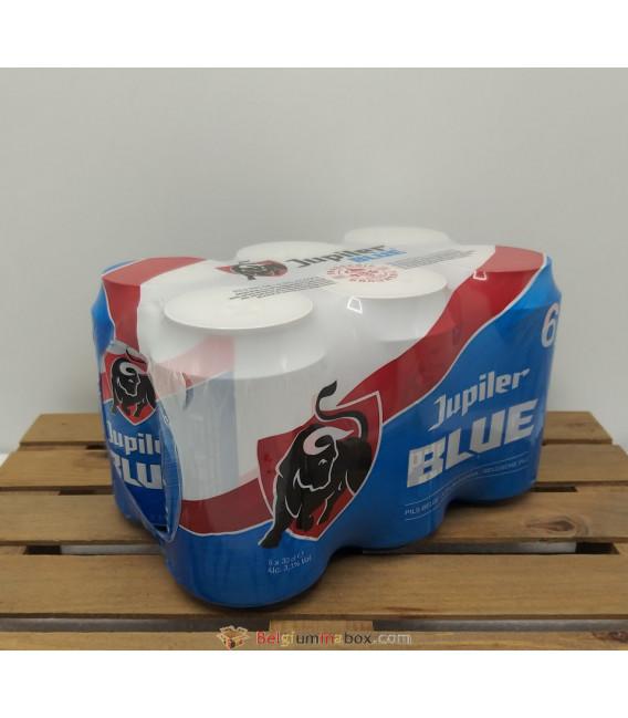 Jupiler Blue PILS 6-Pack 3.3% (6x33cl) CANS