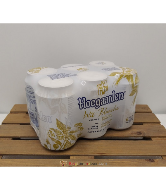 Hoegaarden Wit.Blanche 6-Pack (6x33cl) Cans