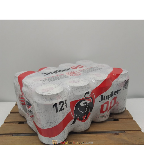 Jupiler 0.0% PILS 12-Pack (12x33cl) CANS