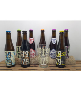 Abbaye des Rocs Brewery Pack (8x33cl) + FREE 1979 Glass