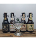Quintine & Hercule Brewery Pack (4x33cl) + FREE Quintine Glass